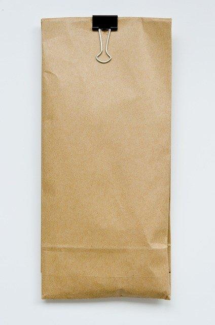 torba, papier, zakupy, prezent