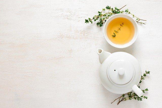 zielona, herbata, napar, zdrowie, uroda