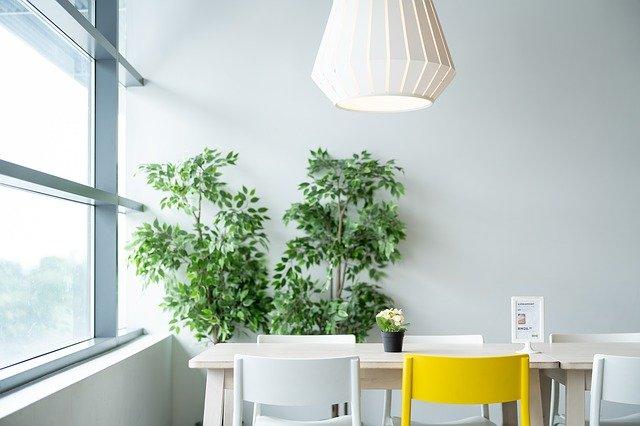 lampa oświetlenie salon