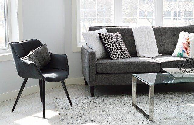 meble umeblowanie kanapa krzesło stół