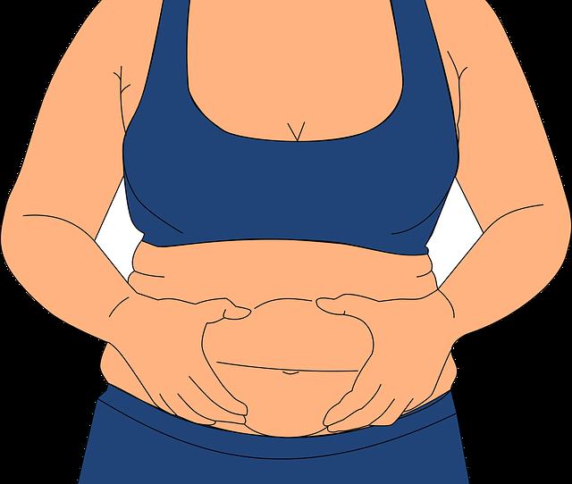 brzuch, tusza, otyłość, ubrania, garderoba