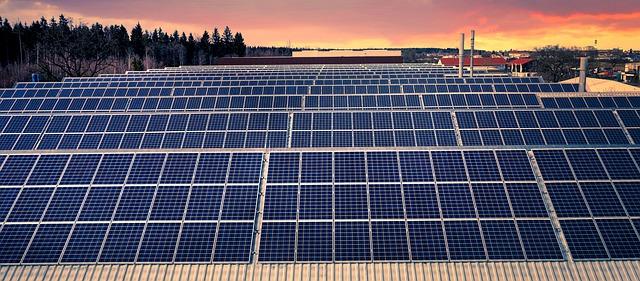 panele fotowoltaiczne, energia słoneczna, ekologia