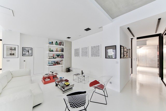loft wnętrze meble
