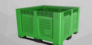 Skrzynki plastikowe składane